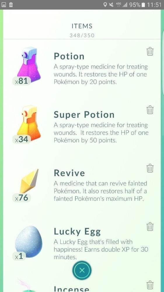 Pokemon GO'da Kullanılan Eşyalar1