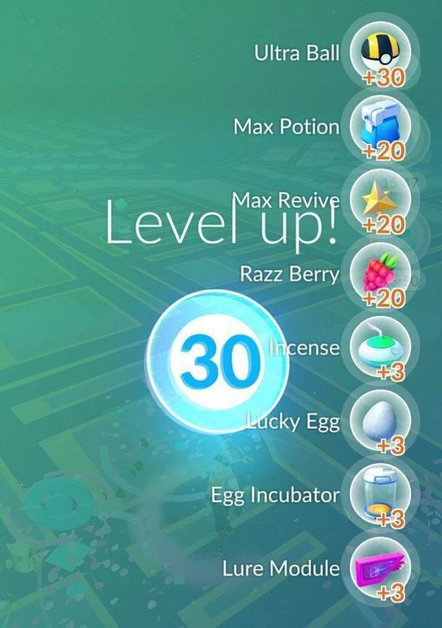 Pokemon Go 30. Seviyede Nasıl Gözüküyor