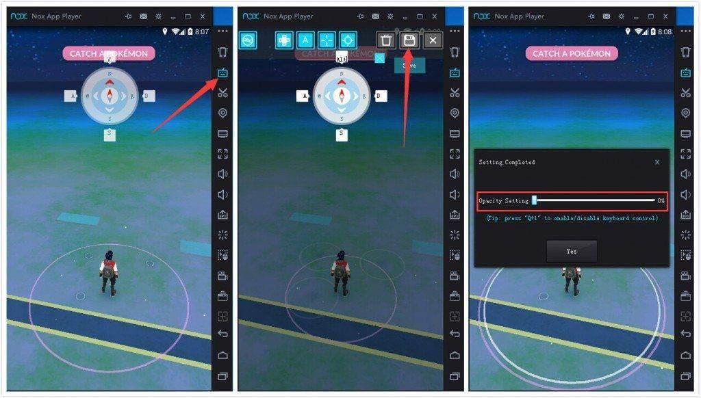 Pokemon Go Fake GPS Klavye Kontrolü