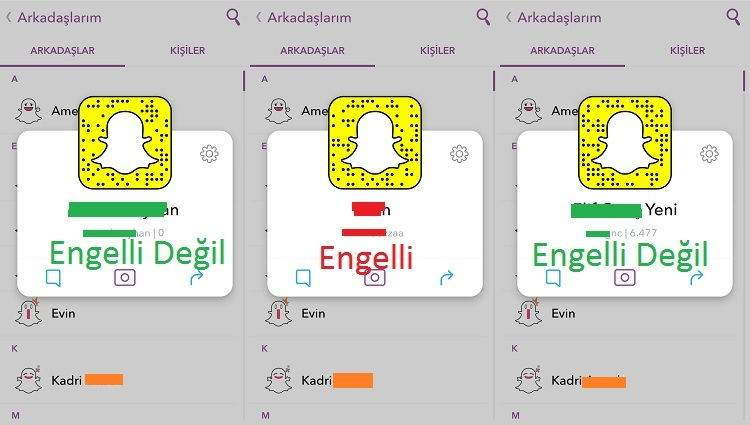 Snapchat Engelleme Nasıl Anlaşılır1