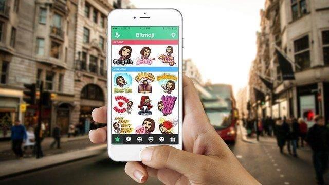 Snapchat'te Bitmoji Kullanımı 1