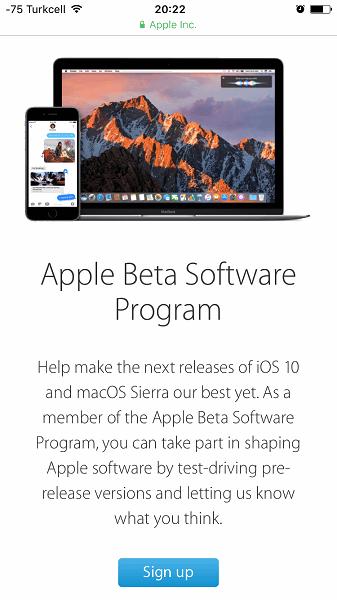 iOS 10 Public Beta Nasıl Yüklenir1