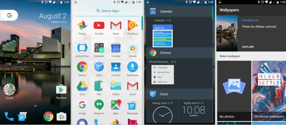 Android 7.0 Launcher APK indir1