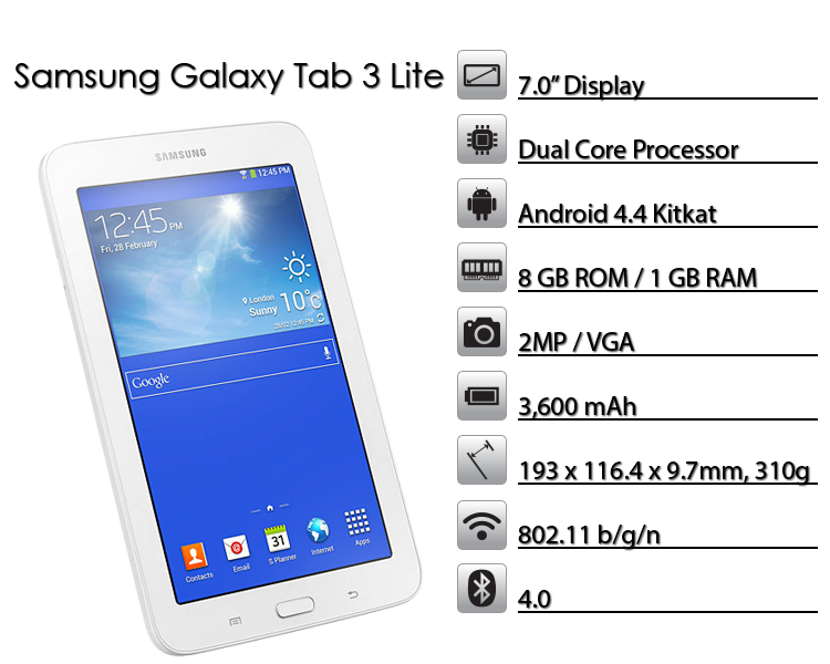 Galaxy Tab3 Lite 7.0 SM-T113 Tablet Root Rehberi 1