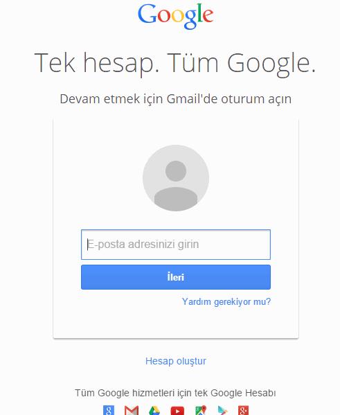 Gmail Hesap İsmini Hatırlamıyor Musunuz1