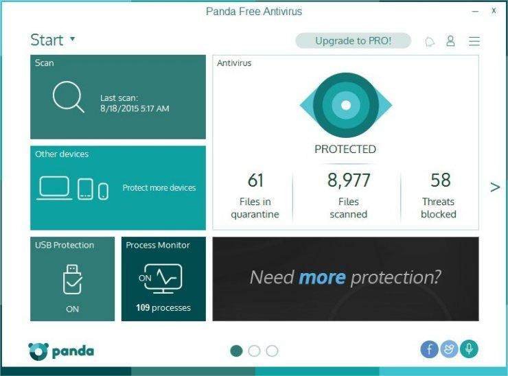 Panda Free Anti-Virus 2016