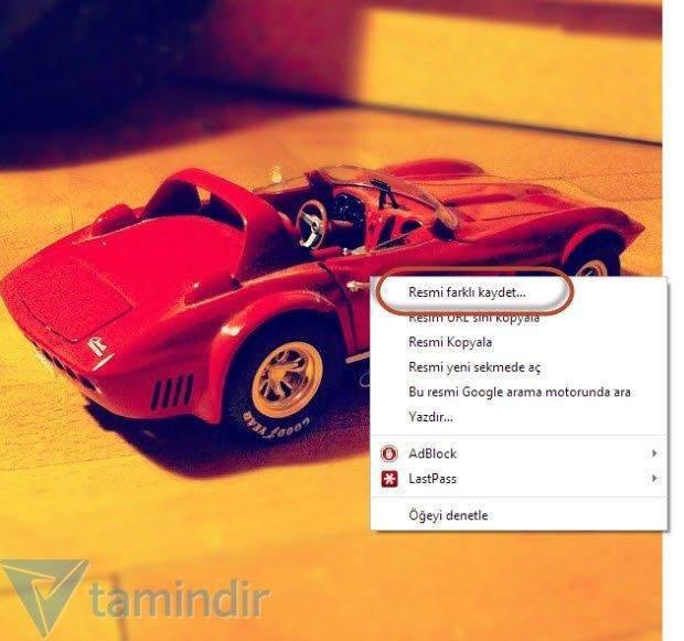Google Chrome ile Instagram Fotoğraflarını Kaydetme
