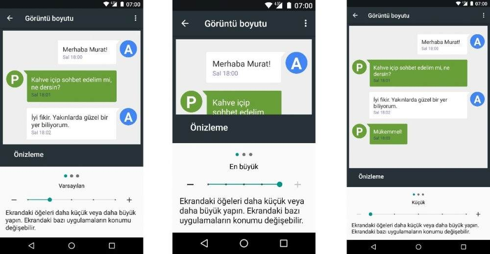 General Mobile GM5 Plus Android 7.0 Güncellemesi