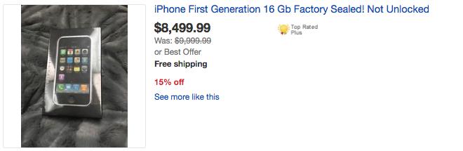 Apple'ın İlk Çıkardığı iPhone'lar Şu An Ne Kadara Satılıyor?