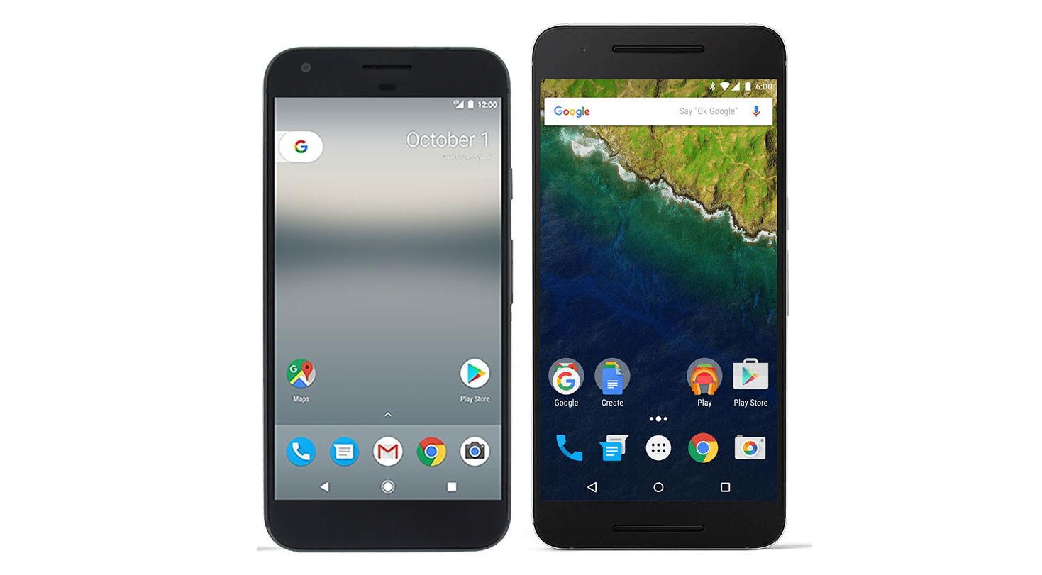 Google Pixel XL İle Nexus 6P Karşılaştırması