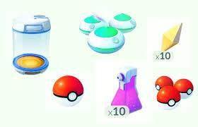 Pokemon GO Kullanılabilir Öğelerin Listesi