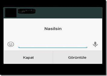WhatsApp'ta Ekran Kilidini Açmadan Mesaj Cevaplama