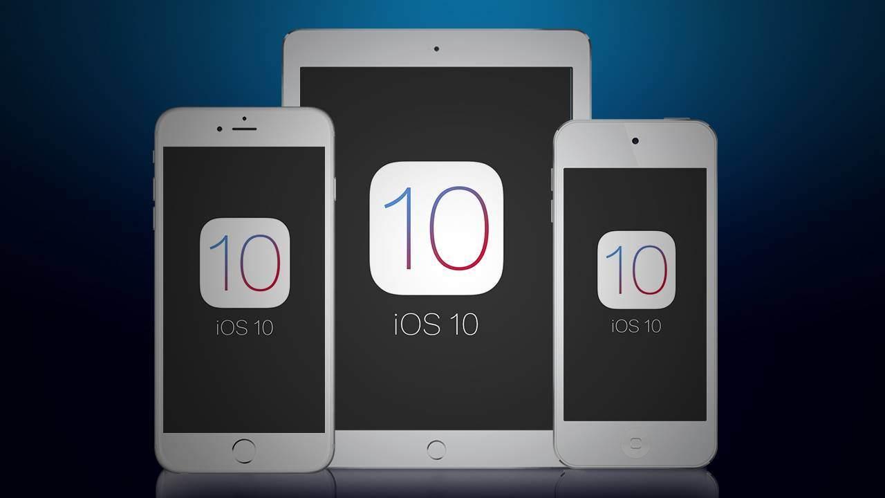 iPhone iOS 10 ipsw indir