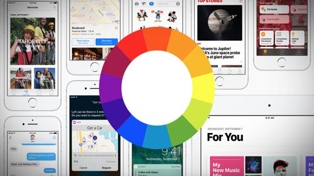 iPhone ve iPad'de Ekranın Renk Tonunu Ayarlama 1