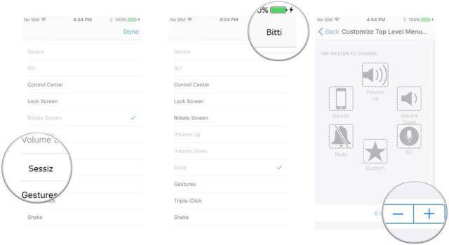 Assistive Touch Menüleri Nasıl Değiştirilir ?
