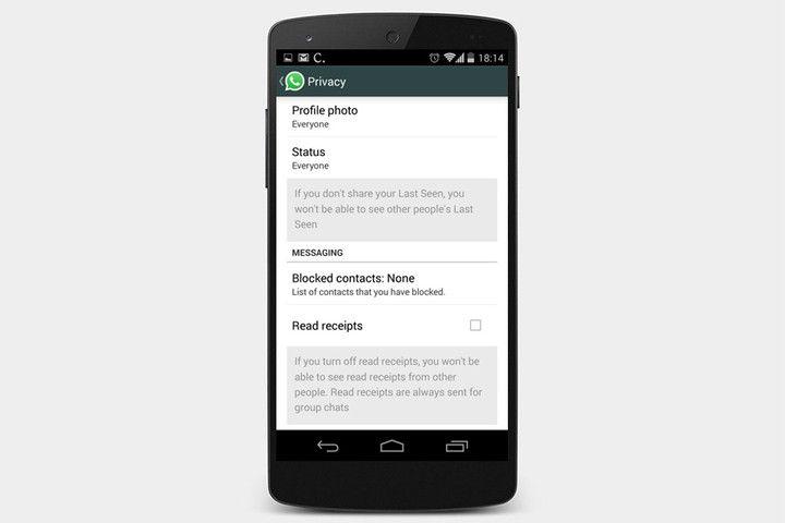 WhatsApp Görüldü Özelliğini Kapatma