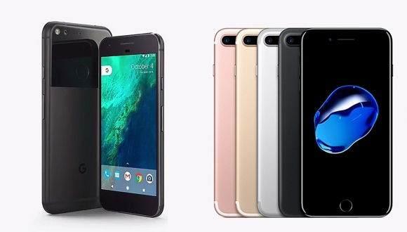 Google Pixel XL ve iPhone 7 Plus Karşılaştırması 1