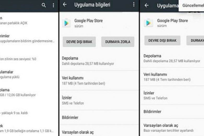 Google Play Store Nasıl Türkçe Yapılır ?