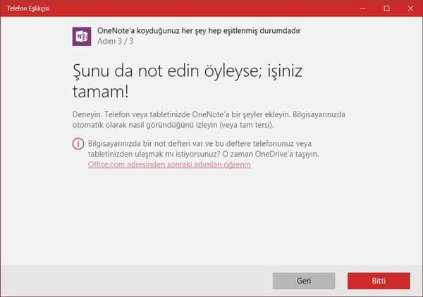 Windows 10 'da Android Telefonu Senkronize Etme