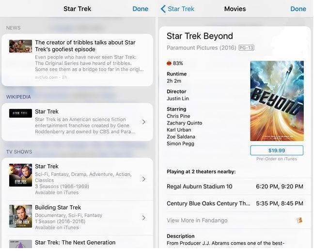 iOS 10'da Yeni Ara Butonu Nasıl Kullanılır ?