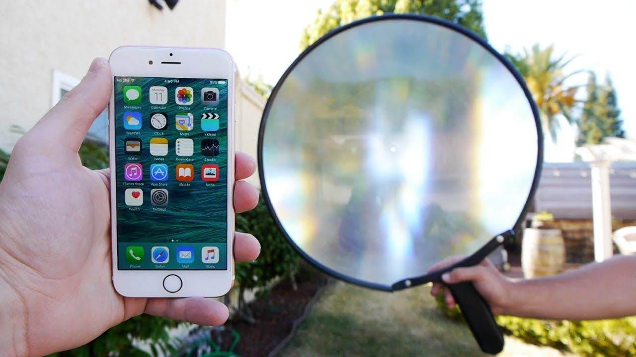 iPhone Kamerasını Büyüteç Olarak Kullanma