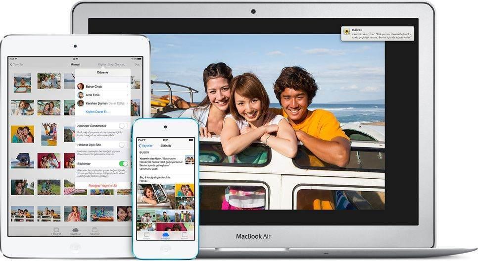 iPhone ve iPad'de Fotoğraf ve Video Nasıl Paylaşılır ?