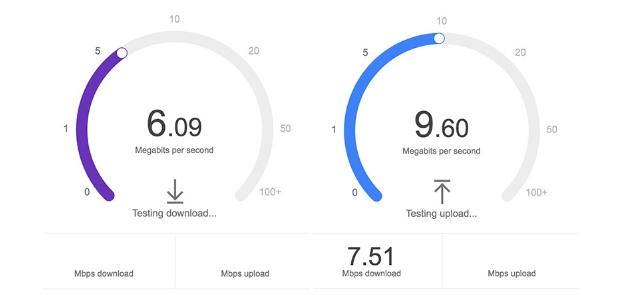 İnternet Hızı - Google Hız Testi