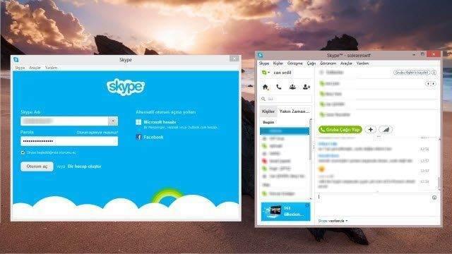 Aynı Bilgisayarda 2 Farklı Skype Oturumu Açma