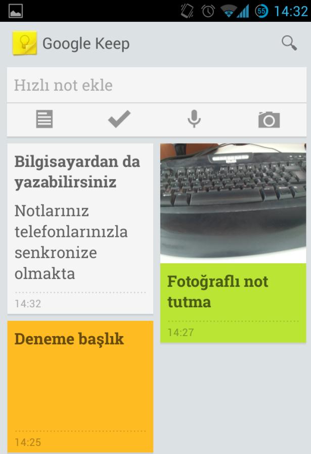 Google Keep Nedir, Nasıl Kullanılır?