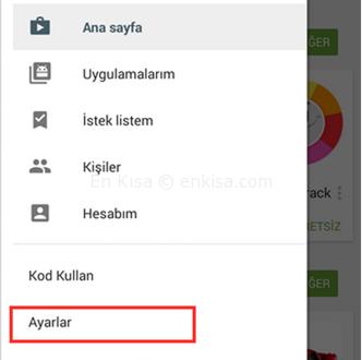 Google Play Store Arama ve Uygulama Geçmişi Nasıl Temizlenir ?