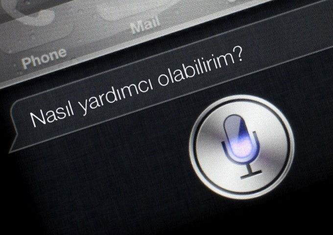 Siri'de Sesli Geri Bildirim'i Kapatma