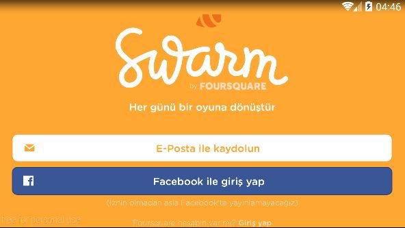 Swarm E-Posta Adresi Değiştirme