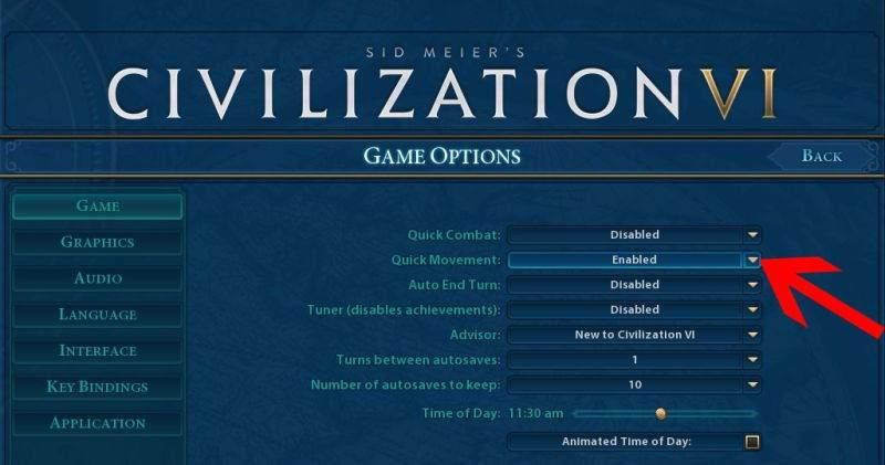 civilization 6 ianimasyon