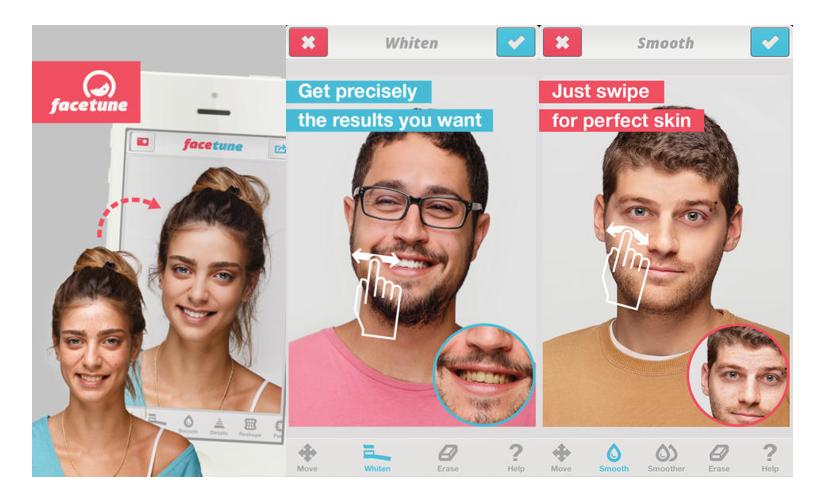 Facetune - Selfie Uygulamalar
