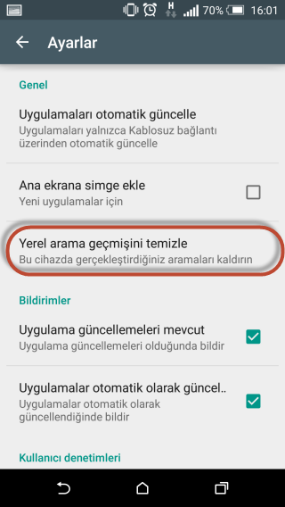 Google Play Store 403 hatası