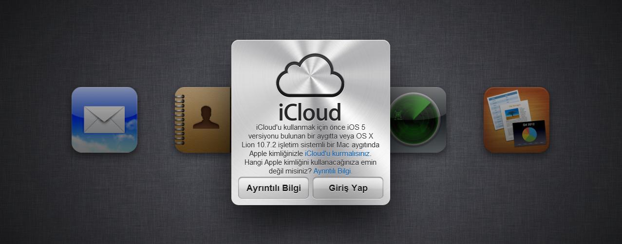 iCloud ile Cihaz Verilerini Uzaktan Silme İşlemi