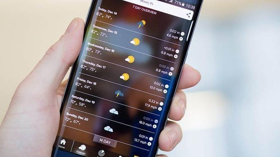 morecast-android-hava-durumu-uygulamasi