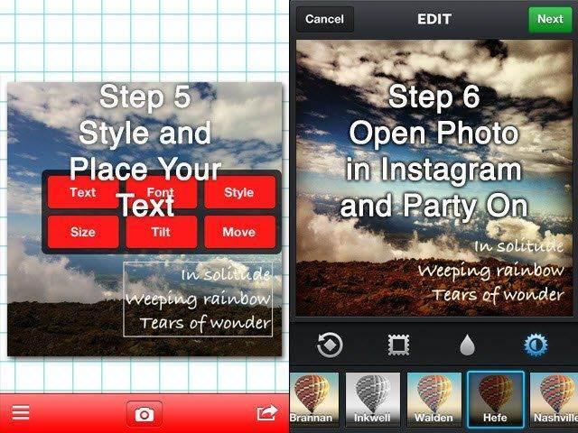 Fotoğraf Üzerine Yazı Yazmak için Kullanabileceğiniz 6 Uygulama