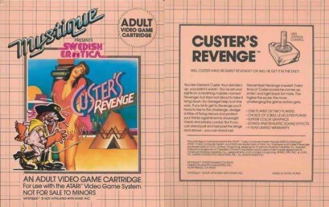 Sakıncalı İçerikten Dolayı Yasaklanan Oyunlar - Custer's Revenge