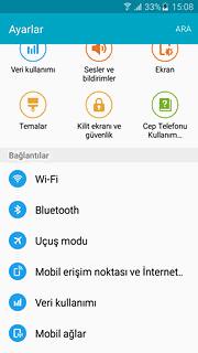 Samsung Telefonlarda Şebeke Seçimi Nasıl Yapılır ?