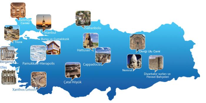 UNESCO Dünya Miras Listesi'nde Türkiye'den 16 Tarihi Yer 1