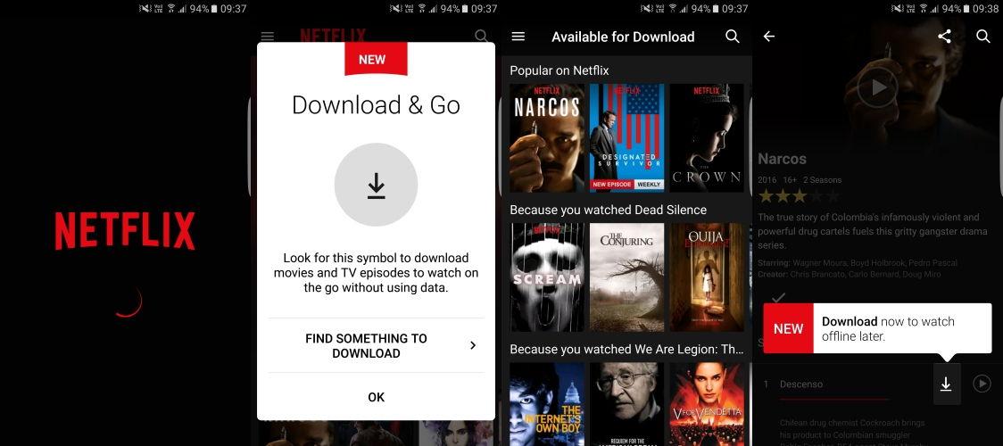 Netflix Çevrimdışı Dizi ve Film İzleme