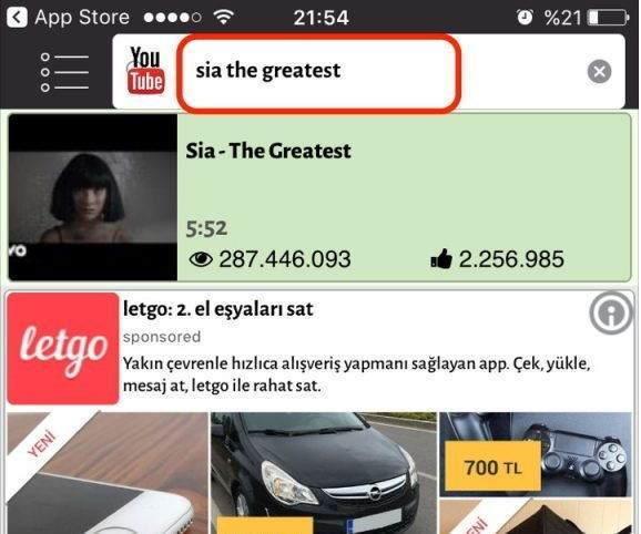 iPhone Ücretsiz Video ve Müzik İndirme