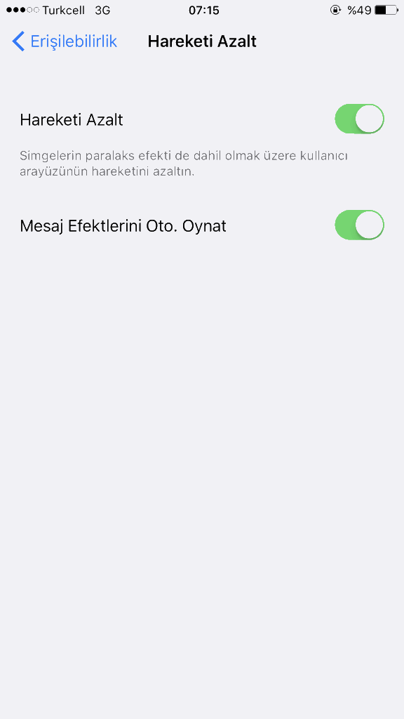 iPhone Ram Boşaltma