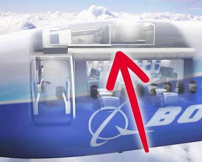 Uçaklardaki Gizli Odalar