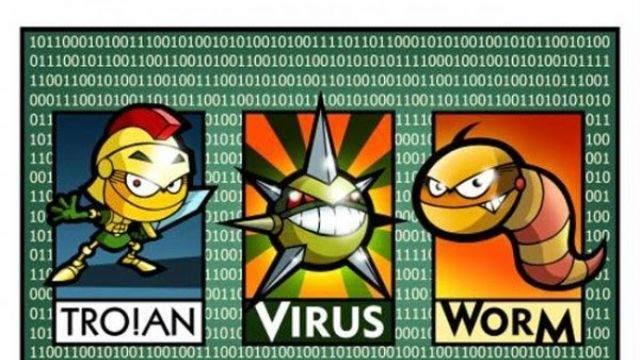 İnternette En Yaygın 7 Virüs