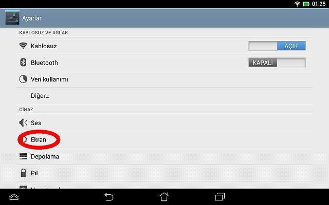 Android Ekran Kapanma Süresi Nasıl Değiştirilir?