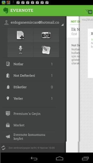 Android Telefonlar için Not Alma Uygulamaları