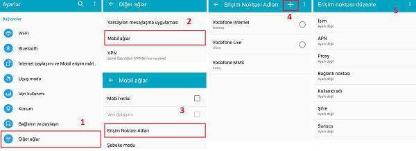 Android ve iPhone için Turkcell Mobil İnternet Ayarları Nasıl Yapılır ?