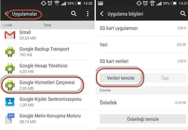 Google Play 504 Hatası Nasıl Çözülür ?
